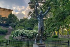 Rocky-Philadelphia-Sunset